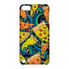 Pizza Pattern Apple iPod Touch 5 Hardshell Case with Stand