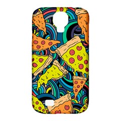 Pizza Pattern Samsung Galaxy S4 Classic Hardshell Case (PC+Silicone)