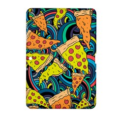 Pizza Pattern Samsung Galaxy Tab 2 (10.1 ) P5100 Hardshell Case