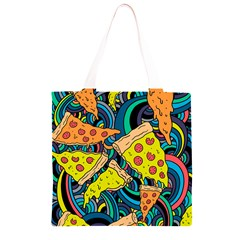 Pizza Pattern Grocery Light Tote Bag