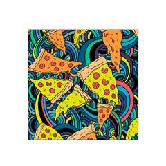 Pizza Pattern Satin Bandana Scarf