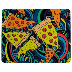 Pizza Pattern Jigsaw Puzzle Photo Stand (Rectangular)