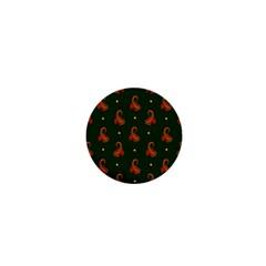 Paisley Pattern 1  Mini Buttons