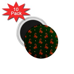 Paisley Pattern 1.75  Magnets (10 pack)