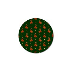 Paisley Pattern Golf Ball Marker (10 pack)