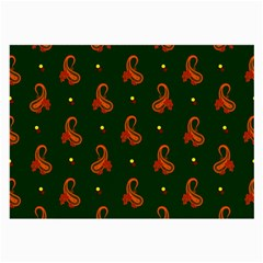 Paisley Pattern Large Glasses Cloth (2-Side)