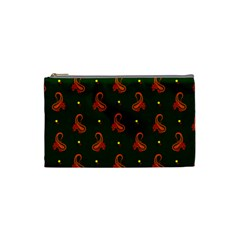 Paisley Pattern Cosmetic Bag (Small)