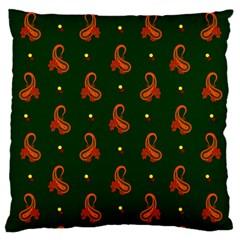 Paisley Pattern Large Cushion Case (One Side)