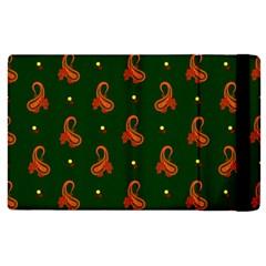 Paisley Pattern Apple iPad 3/4 Flip Case