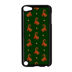 Paisley Pattern Apple iPod Touch 5 Case (Black)