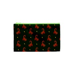 Paisley Pattern Cosmetic Bag (XS)