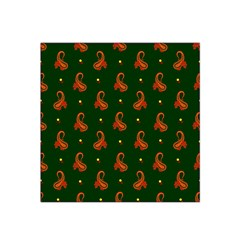 Paisley Pattern Satin Bandana Scarf