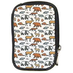 Wild Animal Pattern Cute Wild Animals Compact Camera Cases