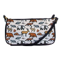 Wild Animal Pattern Cute Wild Animals Shoulder Clutch Bags