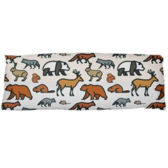Wild Animal Pattern Cute Wild Animals Body Pillow Case Dakimakura (Two Sides)