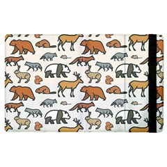 Wild Animal Pattern Cute Wild Animals Apple iPad 2 Flip Case