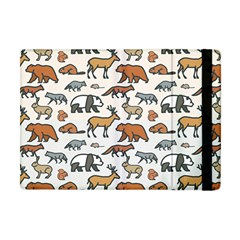 Wild Animal Pattern Cute Wild Animals Apple iPad Mini Flip Case