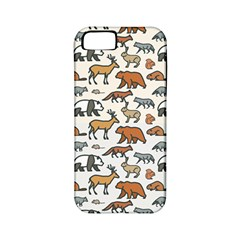 Wild Animal Pattern Cute Wild Animals Apple iPhone 5 Classic Hardshell Case (PC+Silicone)