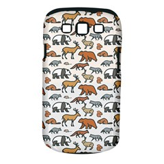 Wild Animal Pattern Cute Wild Animals Samsung Galaxy S III Classic Hardshell Case (PC+Silicone)