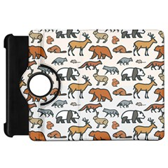 Wild Animal Pattern Cute Wild Animals Kindle Fire HD 7