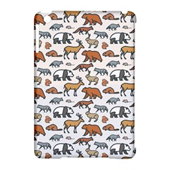Wild Animal Pattern Cute Wild Animals Apple iPad Mini Hardshell Case (Compatible with Smart Cover)