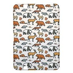 Wild Animal Pattern Cute Wild Animals Kindle Fire HD 8.9