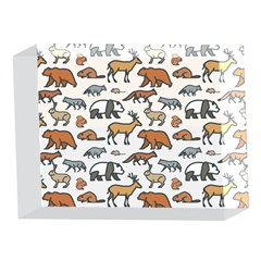 Wild Animal Pattern Cute Wild Animals 5 x 7  Acrylic Photo Blocks