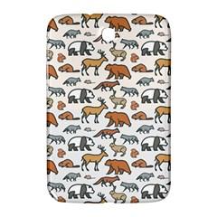 Wild Animal Pattern Cute Wild Animals Samsung Galaxy Note 8.0 N5100 Hardshell Case