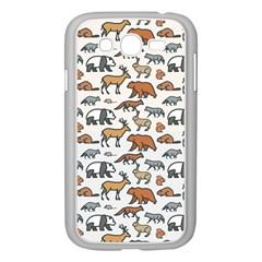 Wild Animal Pattern Cute Wild Animals Samsung Galaxy Grand DUOS I9082 Case (White)