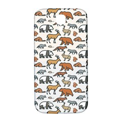 Wild Animal Pattern Cute Wild Animals Samsung Galaxy S4 I9500/I9505  Hardshell Back Case