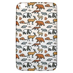 Wild Animal Pattern Cute Wild Animals Samsung Galaxy Tab 3 (8 ) T3100 Hardshell Case