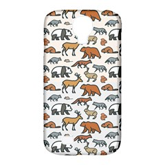 Wild Animal Pattern Cute Wild Animals Samsung Galaxy S4 Classic Hardshell Case (PC+Silicone)