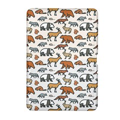 Wild Animal Pattern Cute Wild Animals Samsung Galaxy Tab 2 (10.1 ) P5100 Hardshell Case