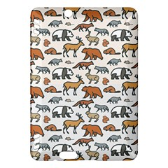 Wild Animal Pattern Cute Wild Animals Kindle Fire HDX Hardshell Case