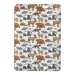 Wild Animal Pattern Cute Wild Animals Kindle Fire HDX 8.9  Hardshell Case
