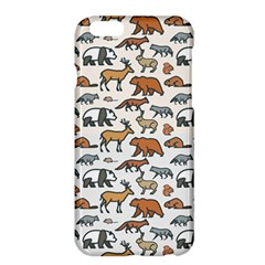 Wild Animal Pattern Cute Wild Animals Apple iPhone 6 Plus/6S Plus Hardshell Case