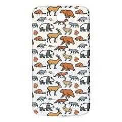Wild Animal Pattern Cute Wild Animals Samsung Galaxy Mega I9200 Hardshell Back Case