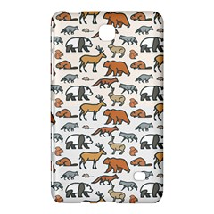 Wild Animal Pattern Cute Wild Animals Samsung Galaxy Tab 4 (8 ) Hardshell Case