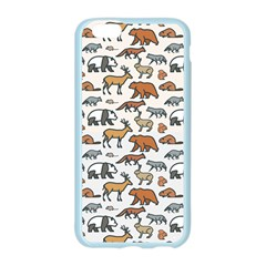 Wild Animal Pattern Cute Wild Animals Apple Seamless iPhone 6/6S Case (Color)