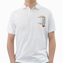 Presentation Girl Woman Hovering Golf Shirts