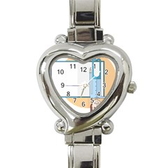 Presentation Girl Woman Hovering Heart Italian Charm Watch