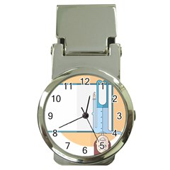 Presentation Girl Woman Hovering Money Clip Watches