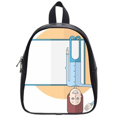 Presentation Girl Woman Hovering School Bags (Small)
