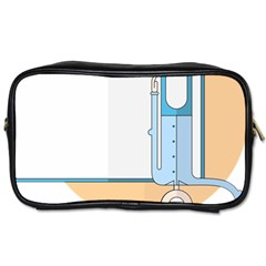 Presentation Girl Woman Hovering Toiletries Bags 2-Side