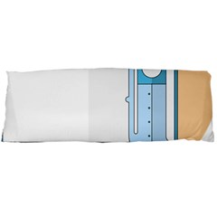 Presentation Girl Woman Hovering Body Pillow Case Dakimakura (Two Sides)