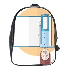 Presentation Girl Woman Hovering School Bags (XL)