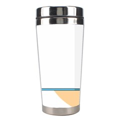 Presentation Girl Woman Hovering Stainless Steel Travel Tumblers