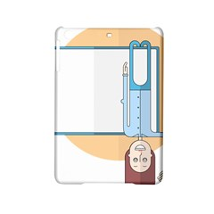 Presentation Girl Woman Hovering iPad Mini 2 Hardshell Cases