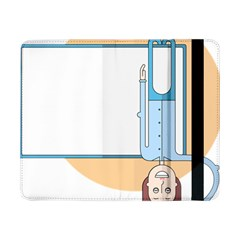 Presentation Girl Woman Hovering Samsung Galaxy Tab Pro 8.4  Flip Case