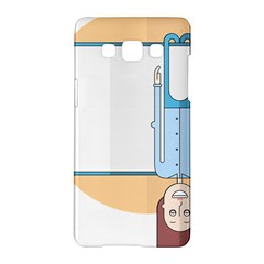 Presentation Girl Woman Hovering Samsung Galaxy A5 Hardshell Case